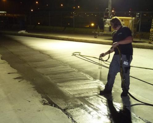 bescherming van beton