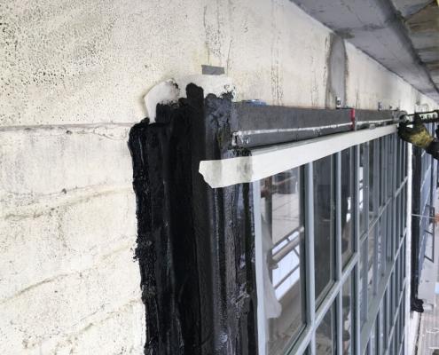 Airtight barrier