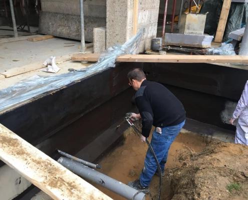 Sealing a basement
