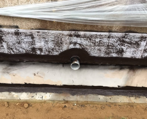 Sealing foundation