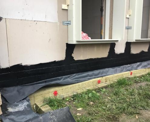 Airtight facade sealant