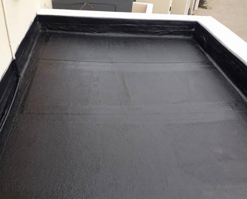 Liquid roof waterproofing