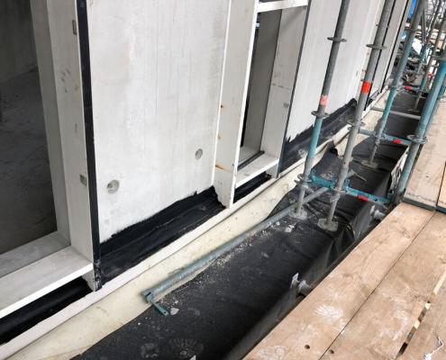 Making window frames airtight