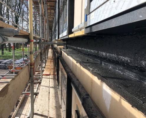 Waterproofing prefab elements