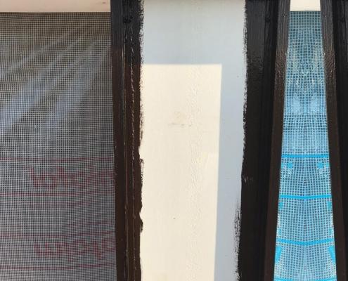 Airbarrier windowframes