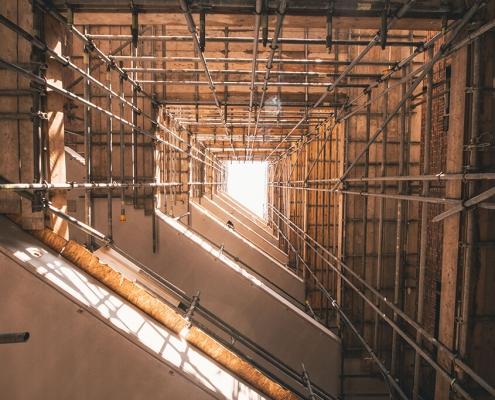 Airtight sealing building floors