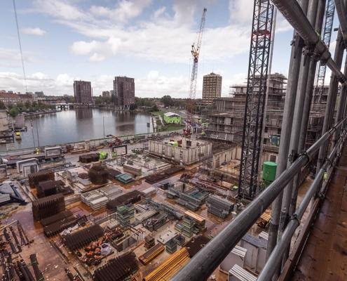 Airtight sealing construction site