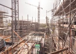 Airtight sealing scaffolding