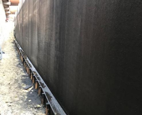 Basement seal wall