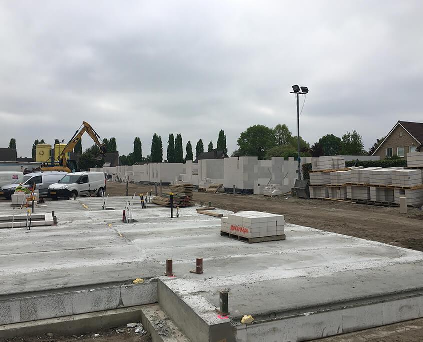 Energy-neutral construction construction site