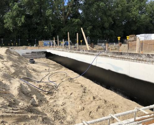 belowgrade basement liquid rubber